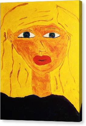 Girl Canvas Print by Bamhs Blair