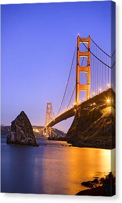 Golden Gate Bridge Canvas Print by Emmanuel Panagiotakis