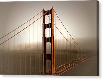 Lovely Golden Gate Bridge Canvas Print by Melanie Viola