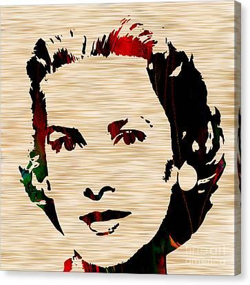 Grace Kelly Canvas Print - Grace Kelly  by Marvin Blaine