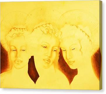 3 Graces Canvas Print