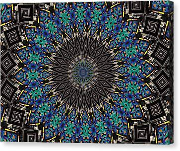 Dean Russo Canvas Print - Graffiti - Galaxee Kaleidoscope by Graffiti Girl