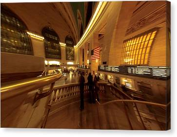 Grand Central Station Canvas Print by Dan Sproul