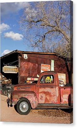 Hackberry, Arizona, United States Canvas Print by Julien Mcroberts