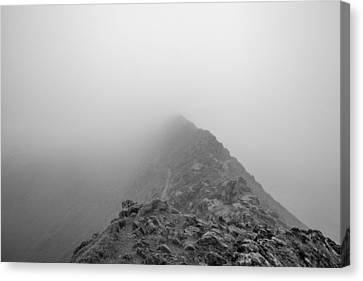 Mike Taylor Canvas Print - Helvellyn by Mike Taylor