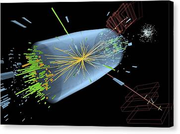 Higgs Boson Research, Cms Detector Canvas Print