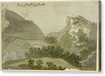 High Tor Canvas Print by British Library