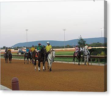 Hollywood Casino At Charles Town Races - 12121 Canvas Print