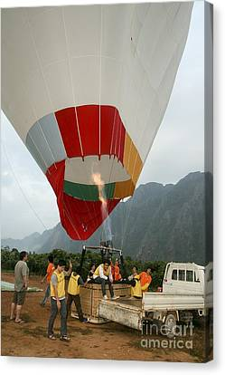 Hot Air Balloon Canvas Print by PhotoStock-Israel