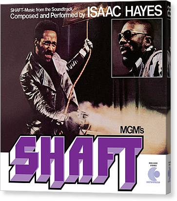 Isaac Hayes -  Shaft Canvas Print by Concord Music Group
