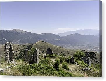 Italian Landscape - Abruzzo Canvas Print