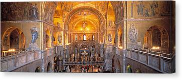 Italy, Venice, San Marcos Cathedral Canvas Print