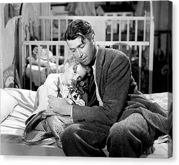 It's A Wonderful Life  Canvas Print by Silver Screen