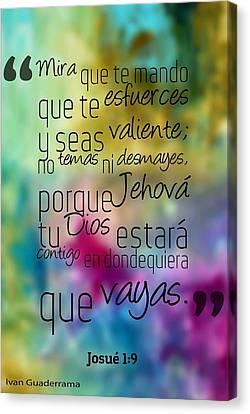 Ivan Guaderrama Quotes Canvas Print
