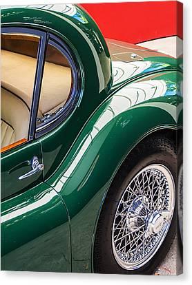 Jaguar Xk 140 Canvas Print by SM Shahrokni