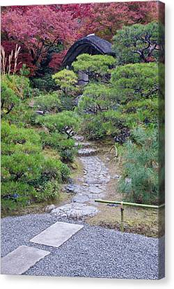 Japan, Kyoto, Arashiyama, Sagano Canvas Print by Rob Tilley