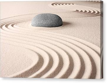 Japanese Zen Garden Canvas Print by Dirk Ercken