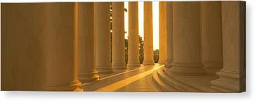 Jefferson Memorial, Washington Dc Canvas Print by Panoramic Images