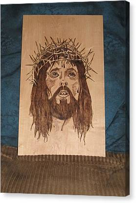 Jesus' Crucifixion Canvas Print by N Gardner