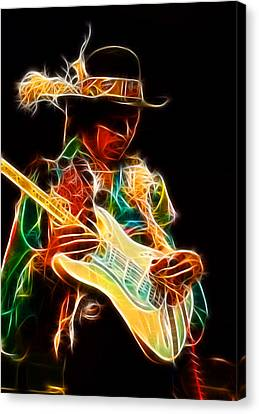 Jimi Hendrix Canvas Print by Doc Braham