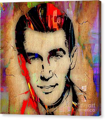 Jimmy Stewart Collection Canvas Print by Marvin Blaine