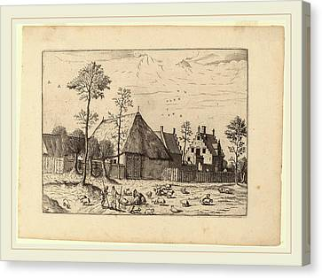 Johannes And Lucas Van Doetechum After Master Of The Small Canvas Print