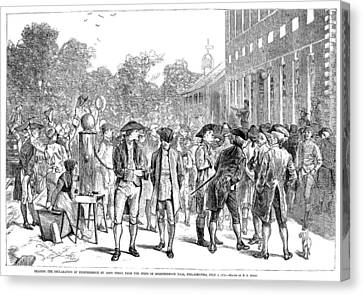 John Nixon, 1776 Canvas Print by Granger