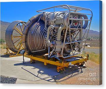John P. Stapp Air And Space Park  Canvas Print by Gregory Dyer