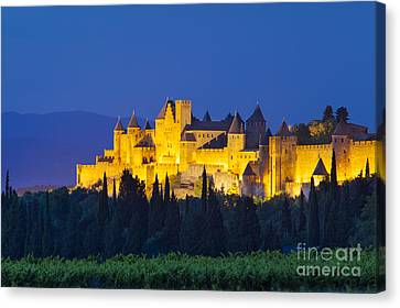 La Cite Carcassonne Canvas Print by Brian Jannsen