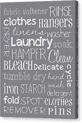 Laundry Room Canvas Print
