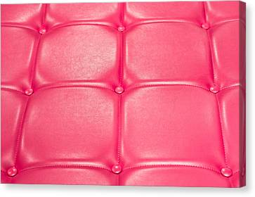 Leather Upholstery Canvas Print by Tom Gowanlock