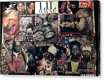 Lil Wayne The Last Hot Boy Canvas Print by Isis Kenney