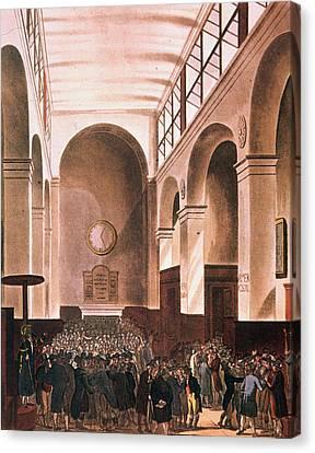 Microcosm Canvas Print - London Stock Exchange by Granger