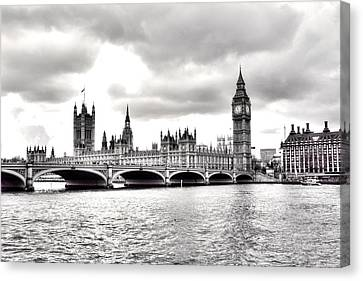 London Town Canvas Print by Fizzy Image