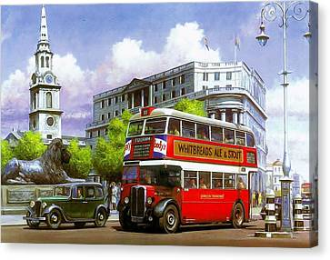London Transport Stl Canvas Print by Mike  Jeffries