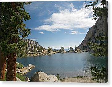 Lone Pine Lake Canvas Print by Jim West