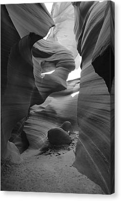 Lower Antelope Canyon Canvas Print by Mike Herdering