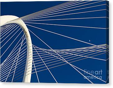 Margaret Hunt Hill Bridge Canvas Print by Elena Nosyreva