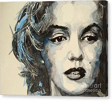 Marilyn Canvas Print by Paul Lovering
