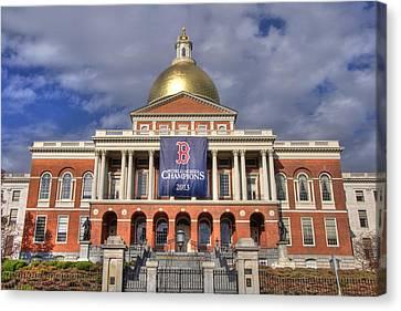 Massachusetts State House Canvas Print
