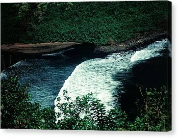 Maui Black Sand Beach Canvas Print