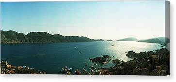 Byzantine Canvas Print - Mediterranean Sea Viewed by Panoramic Images