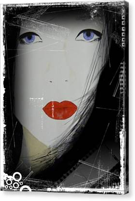 Memoirs Of A Geisha Canvas Print by Dan Twyman