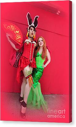 Mermaid Parade 2011 Canvas Print by Mark Gilman