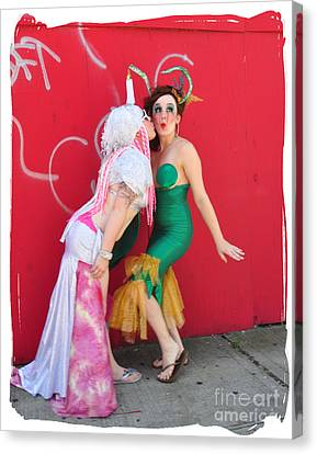 Mermaid Parade 2012 Canvas Print by Mark Gilman
