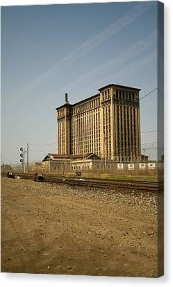 Depot Canvas Print - Michigan Central Station by Gary Marx