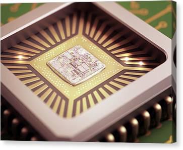Microchip Canvas Print
