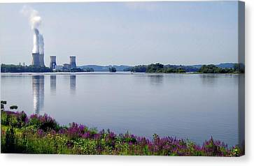 3 Mile Island Canvas Print