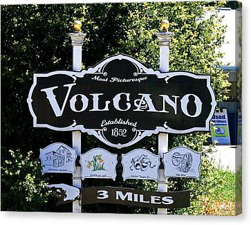 3 Miles To Volcano Canvas Print by Joseph Coulombe