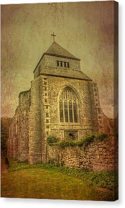 Minster Abbey Canvas Print by Dave Godden